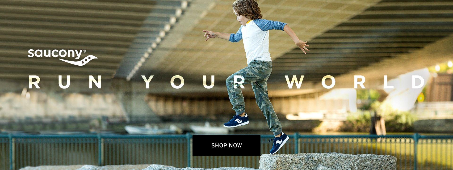 Saucony. Run Your World. Shop Now