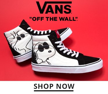Image of Vans Snoopy Sneakers. Shop Now