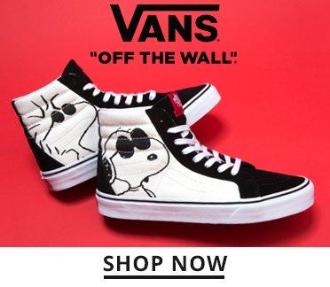 Image of Vans Snoopy Sneakers. Shop Now