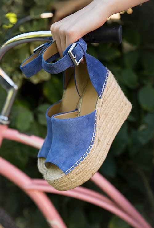 image links to assortment of wedge sandals
