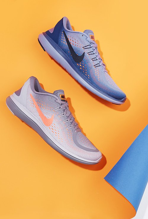 image links to assortment of athletic sneakers in new colors