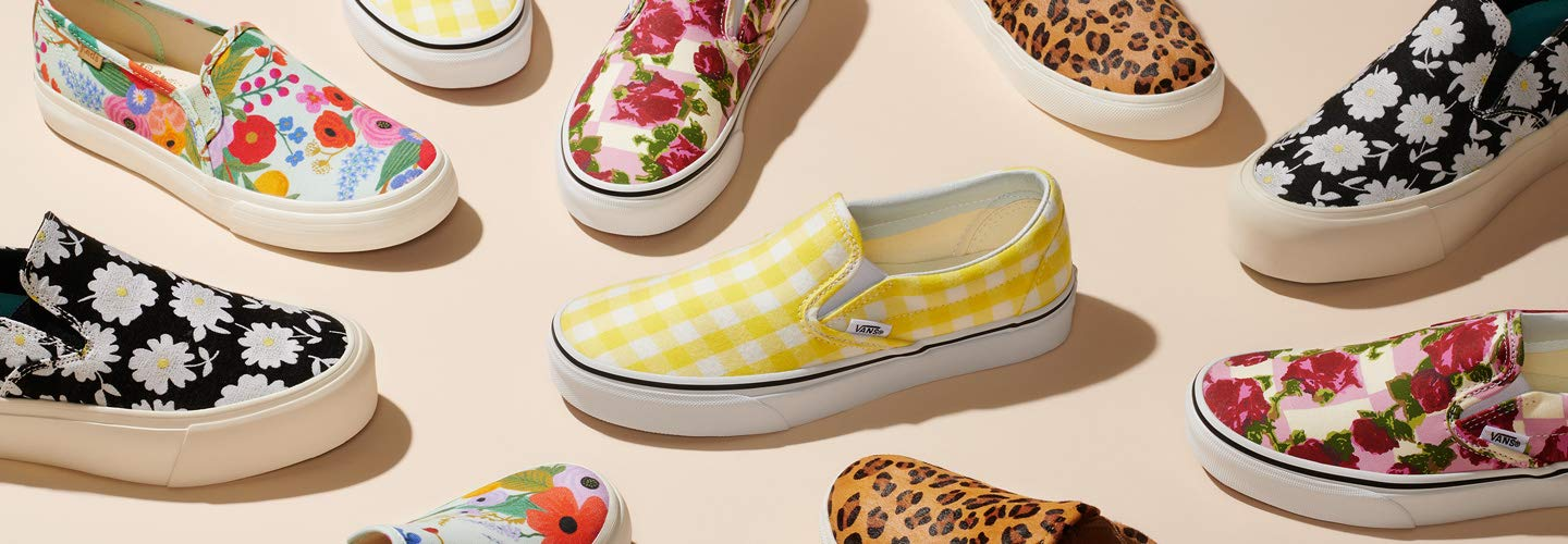 on sale ae26f 3b330 Women s Slip-On Sneakers  Easy, Everyday Style. Fun prints and classic  canvas ...