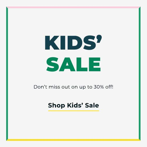 Shop Kids Sale. Don't miss out on up to 30% off!