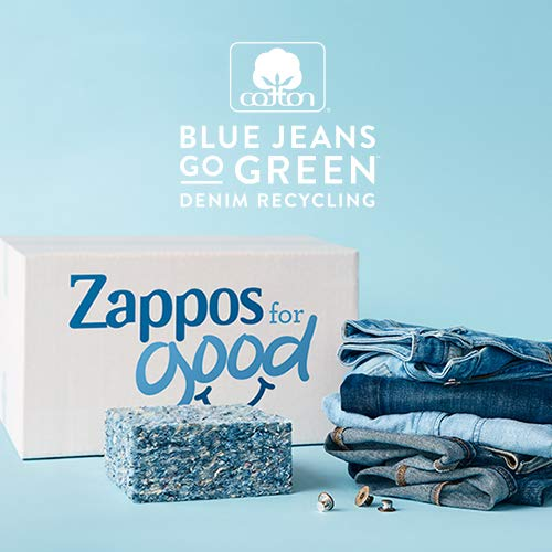 Cotton. Blue Jeans Go Green. Denim Recycling. Zappos for Good
