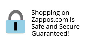 Shopping on Zappos.com is safe and secure guaranteed!