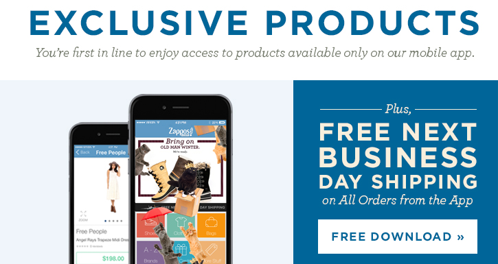 Download the FREE app for exclusive products and free 1-business day shipping