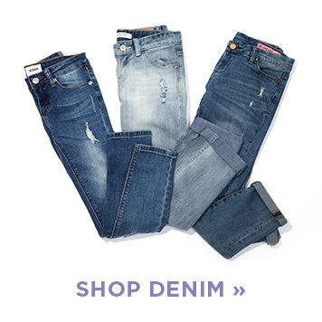 image of girls' Denim