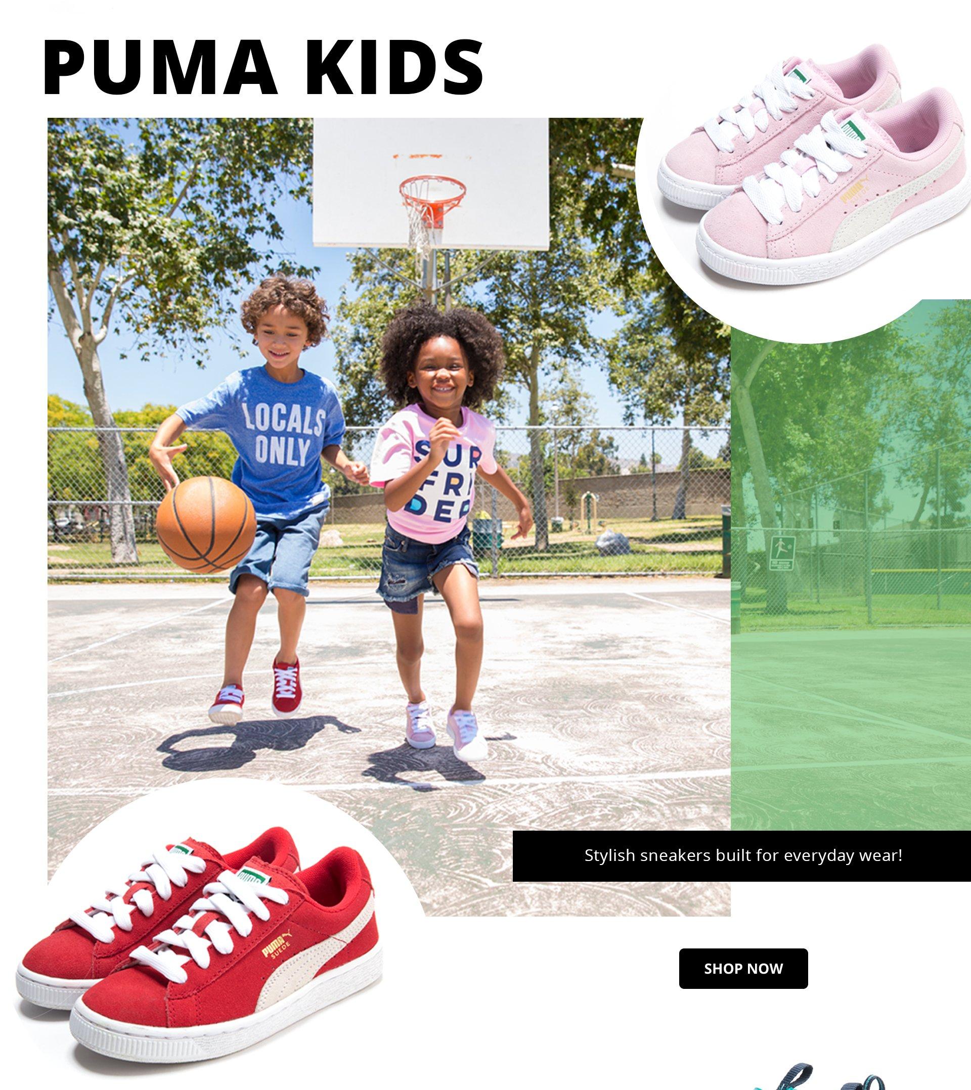 Shop Puma Kids Sneakers