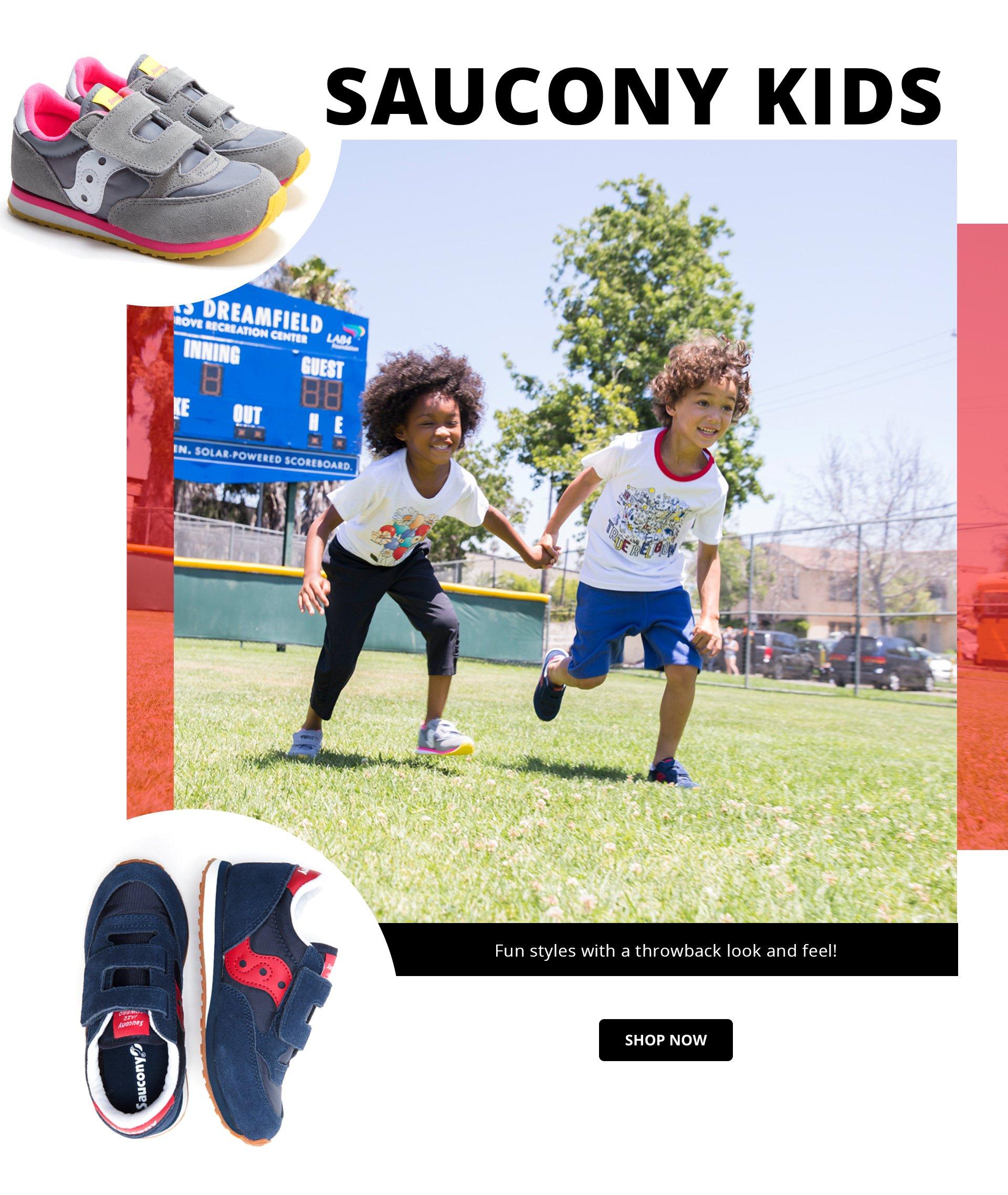 Shop Saucony Kids Sneakers