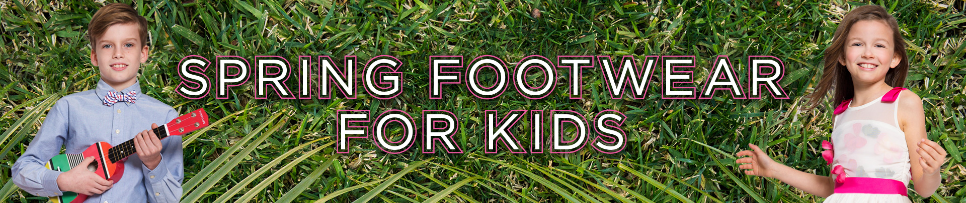 Shop Kids Spring Footwear Look Book