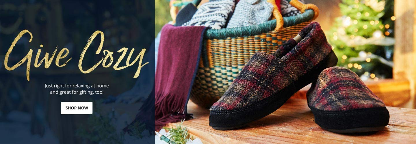Give Cozy. Just right for relaxing at home and great for gifting, too! Shop Now.