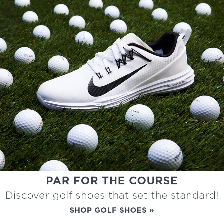Image of a Nike Golf Shoe