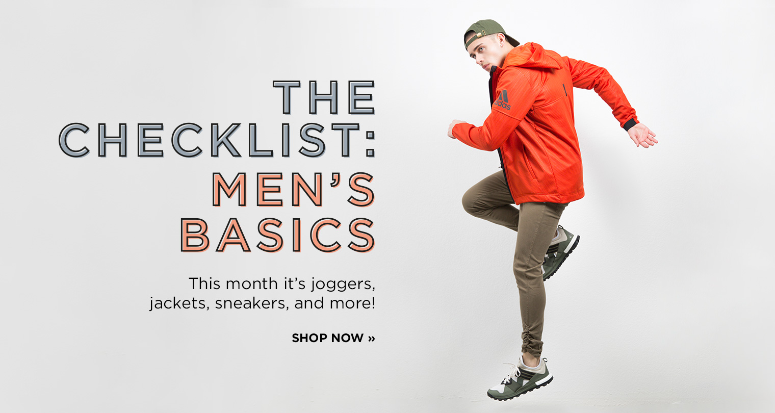 Shop Men's Basics Checklist