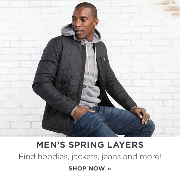 Shop Men's Spring Layers