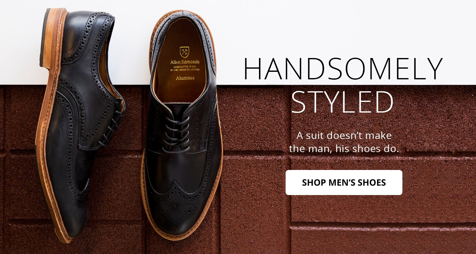 Image of Men's Oxford Dress Shoes.