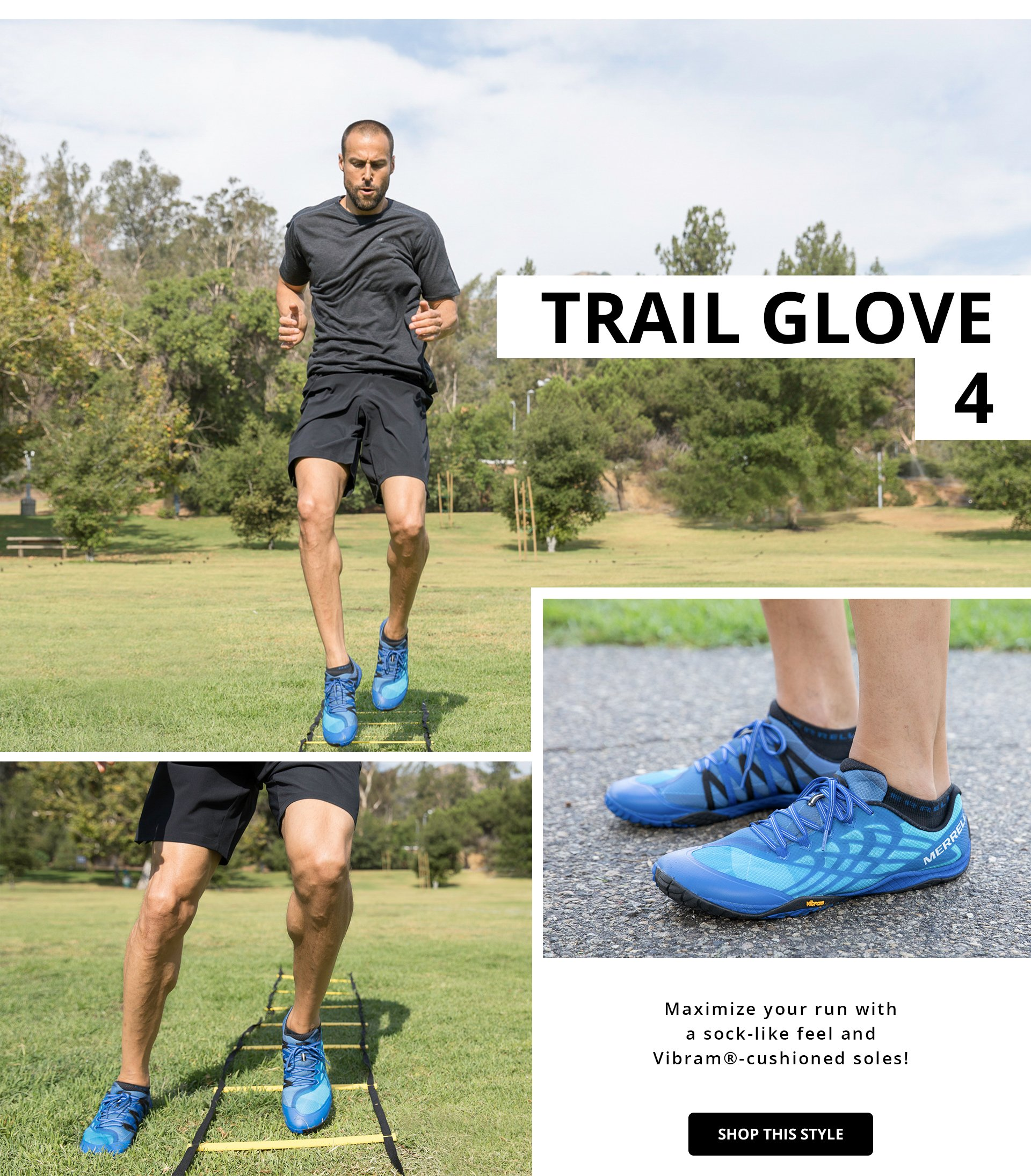 Shop Merrell Trail Glove 4