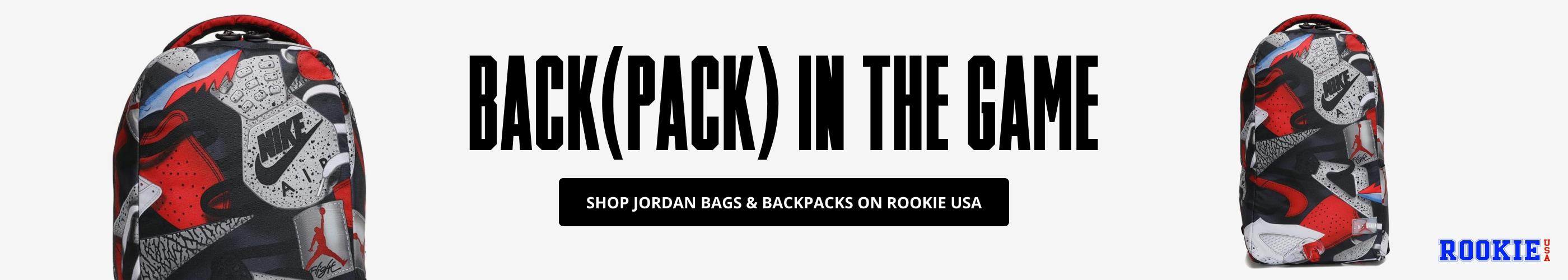 Shop Jordan Bags & Backpacks on Rookie USA