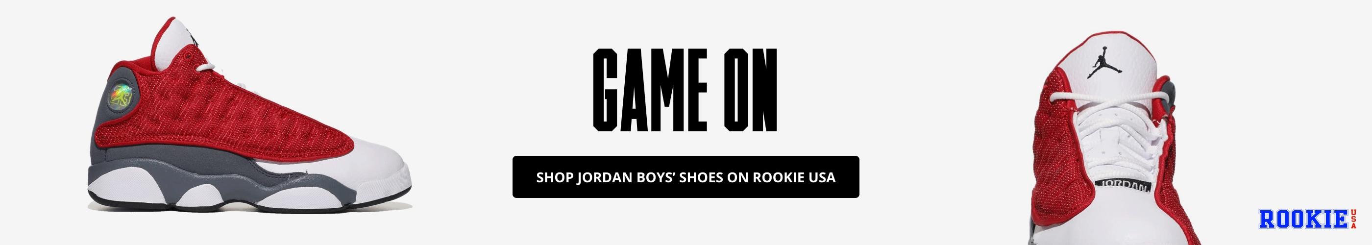 Shop Jordan Boys' Shoes on Rookie USA