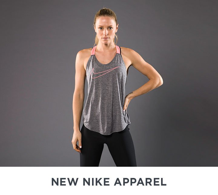 Image of a woman in Nike workout clothing.