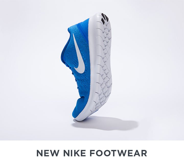 Image of a blue Nike Sneakers