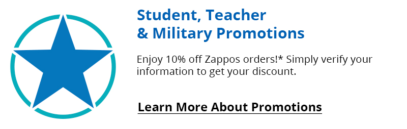 Military/Teacher/Student Discount.