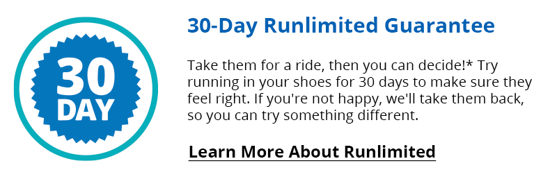 30-Day Runlimited Guarantee