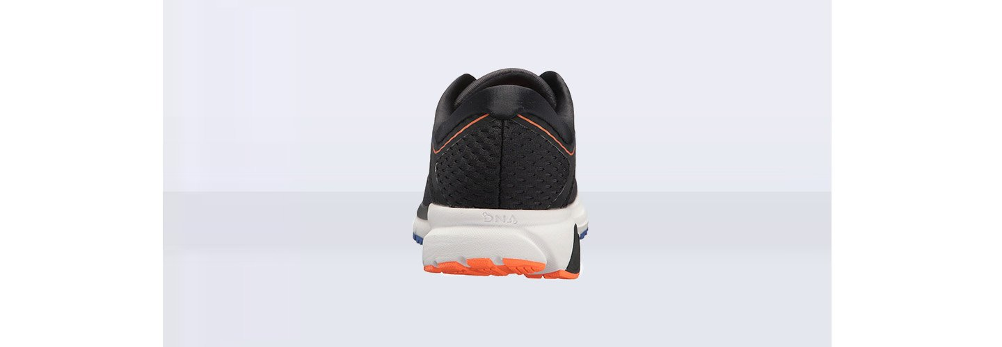 3af2991a0e2 A durable rubber compound has been integrated into the sole unit of the Brooks  Ravenna 9. The rubber material aims to provide outsole durability and ...