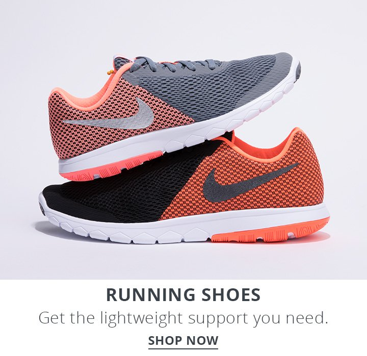 Running Shoes. Get the lightweight support you need. Shop Now.