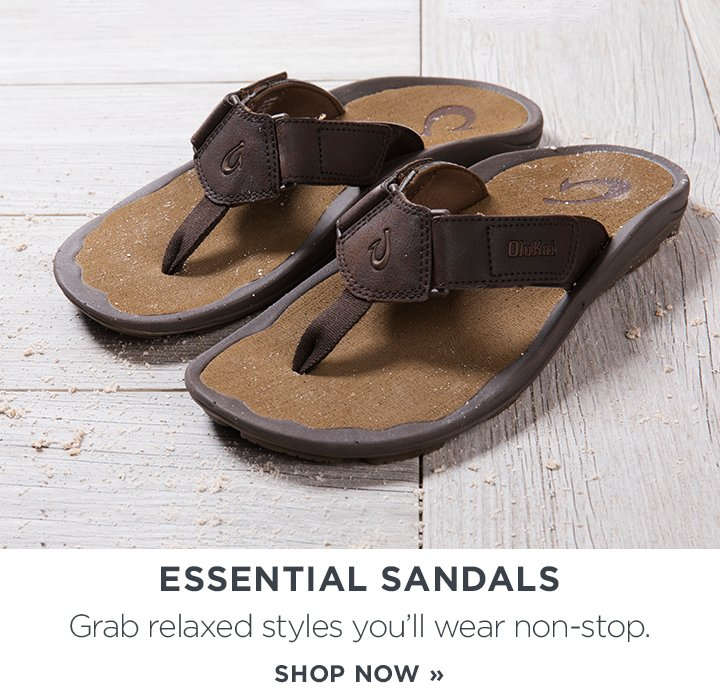 Essential Sandals. Grab relaxed styles you'll wear non-stop. Shop Now.