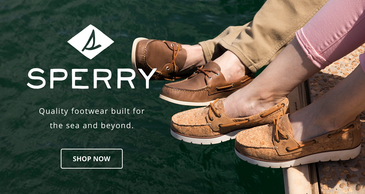 Sperry. Quality footwear built for the sea and beyond. Shop Now.