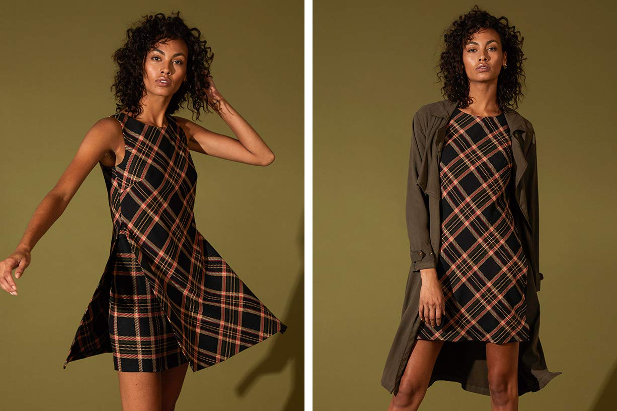 Plaid & Houndstooth Lookbook