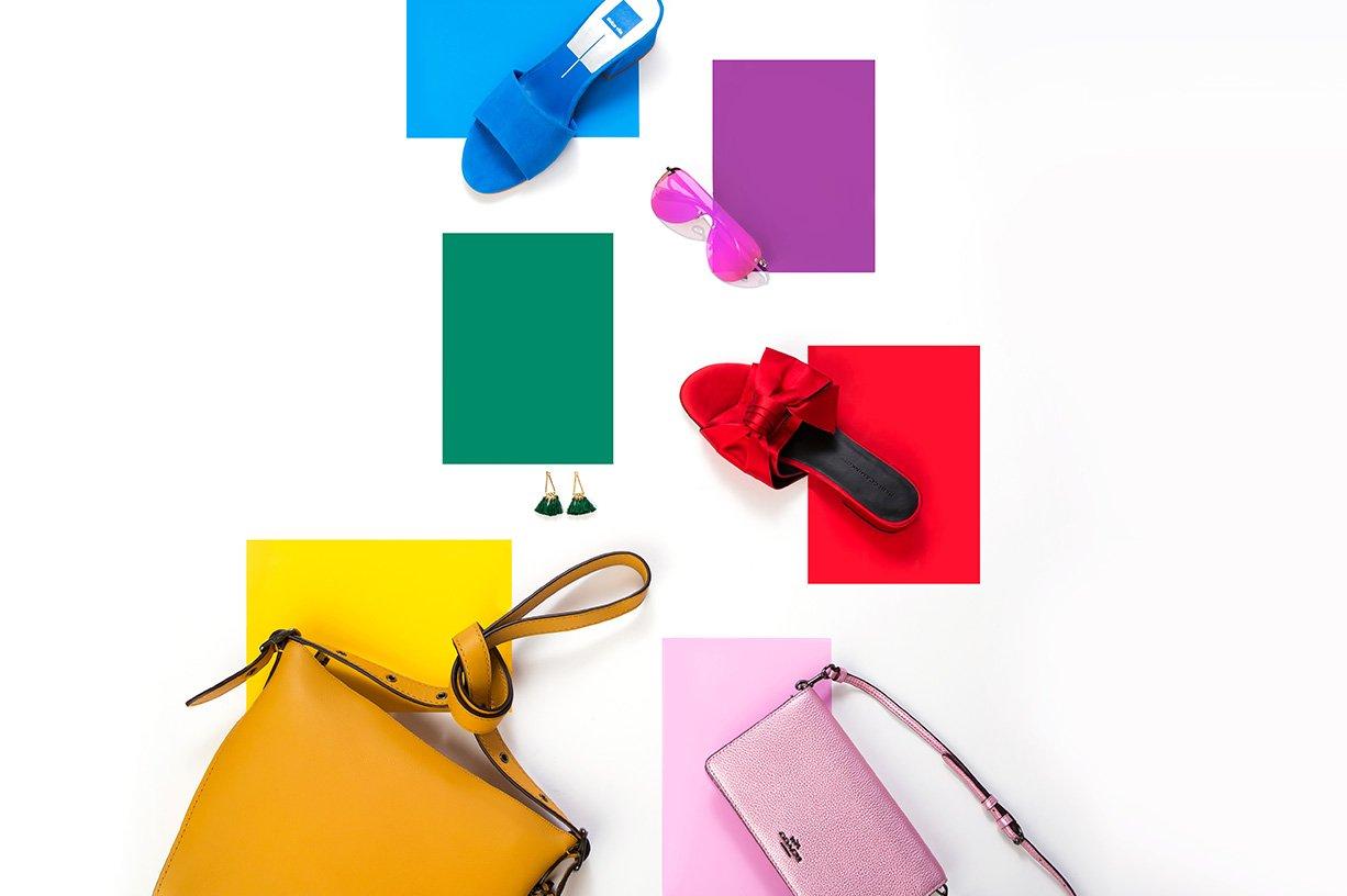 Rainbow of Colors Lookbook