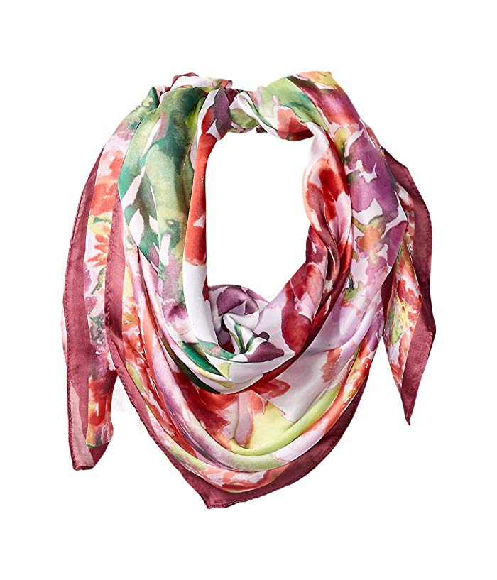 Image of printed scarf