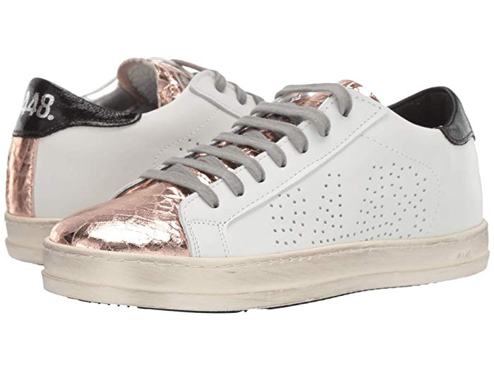 Silver toed sneakers