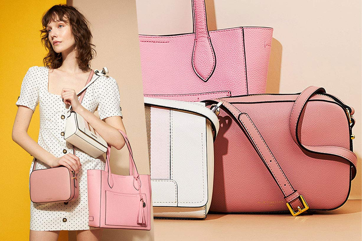 Blush Handbag Lookbook