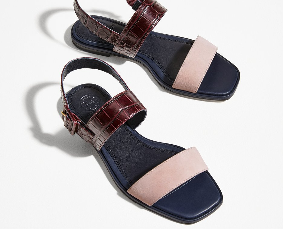 Image of a tory burch sandals