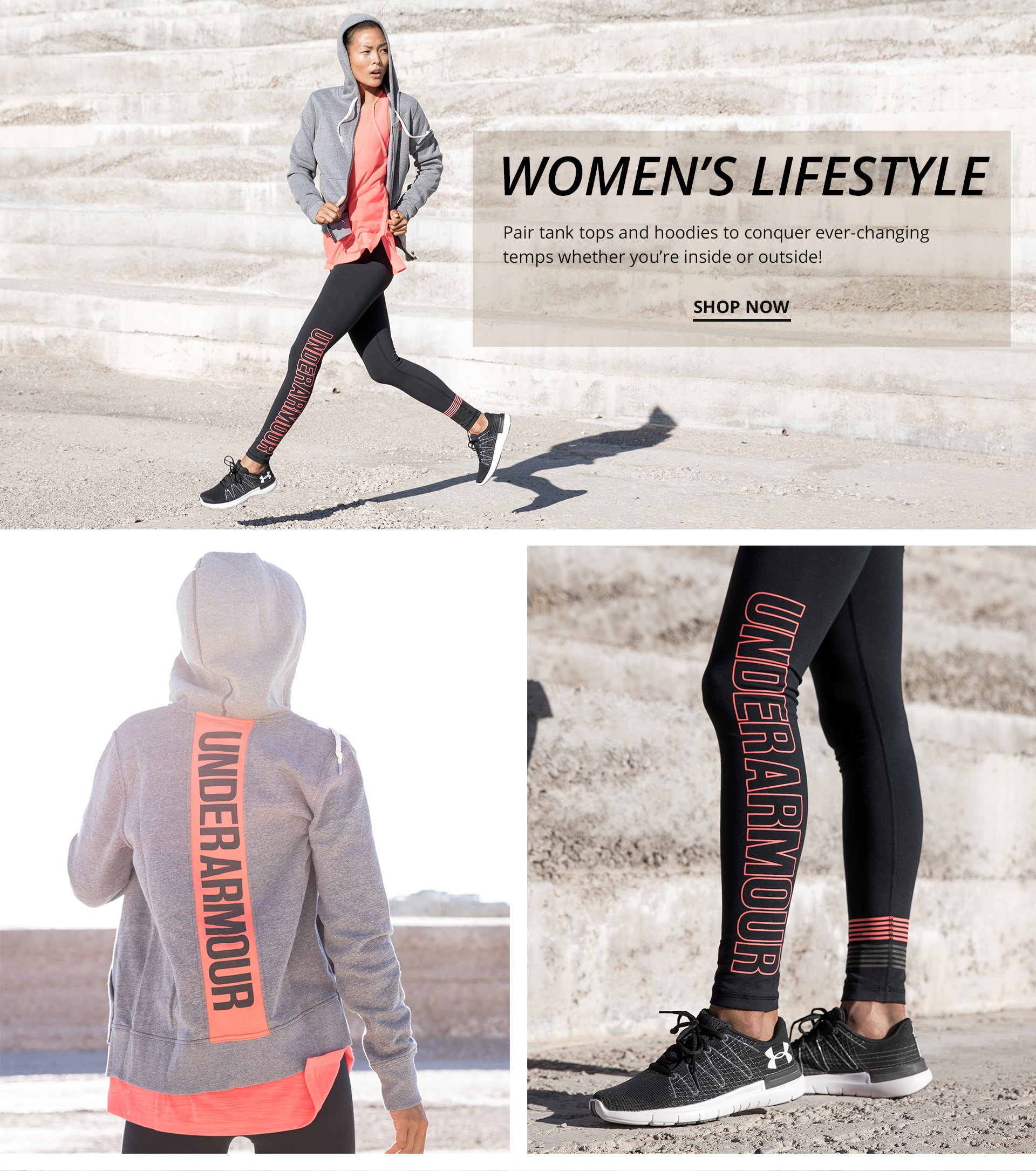 Shop Under Armour Women's Lifestyle