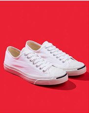 Shoes. Image of white Converse sneakers