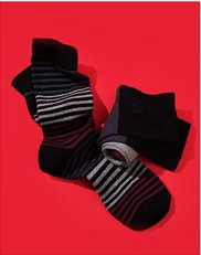 Socks. Image of Mens dress socks,
