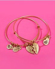 BFF Jewelry. Image of Alex and Ani charm bracelets