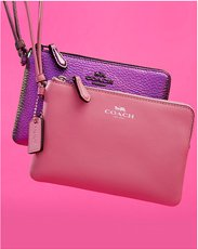 Clutches and Wristlets. Image of Coach wristlets