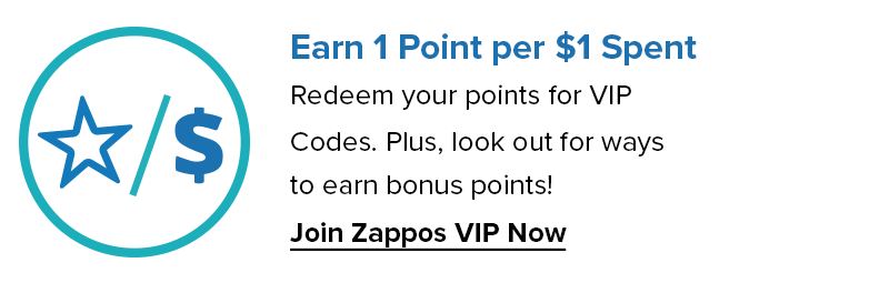 Earn 1 Point for $1 Spent