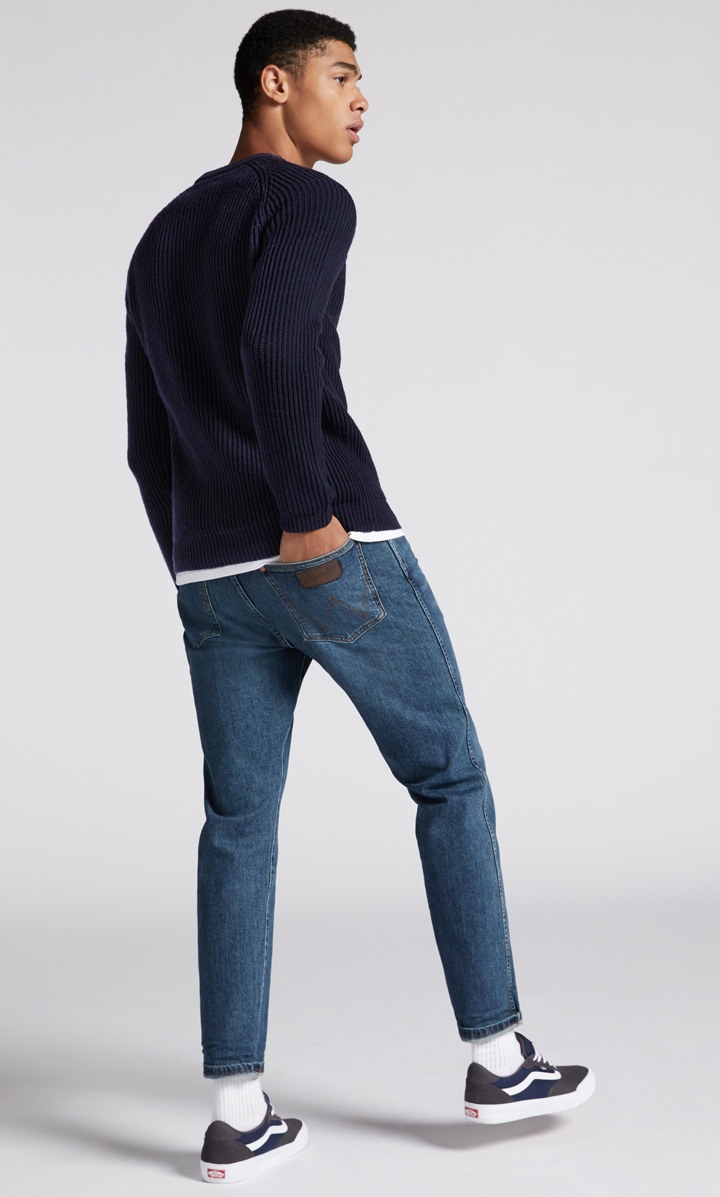 Cheap Monday jeans slim fit in look Destroyed Uomo Pantaloni Jeans 28//32