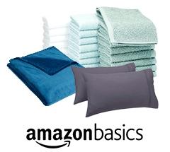 Hasta un 30% de descuento en ropa de cama y productos por el baño AmazonBasics
