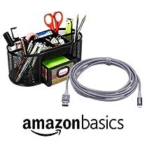 Hasta un 30% de descuento en productos de electrónica y de oficina AmazonBasics