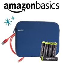 Ahorra un 20% en productos de electrónica AmazonBasics