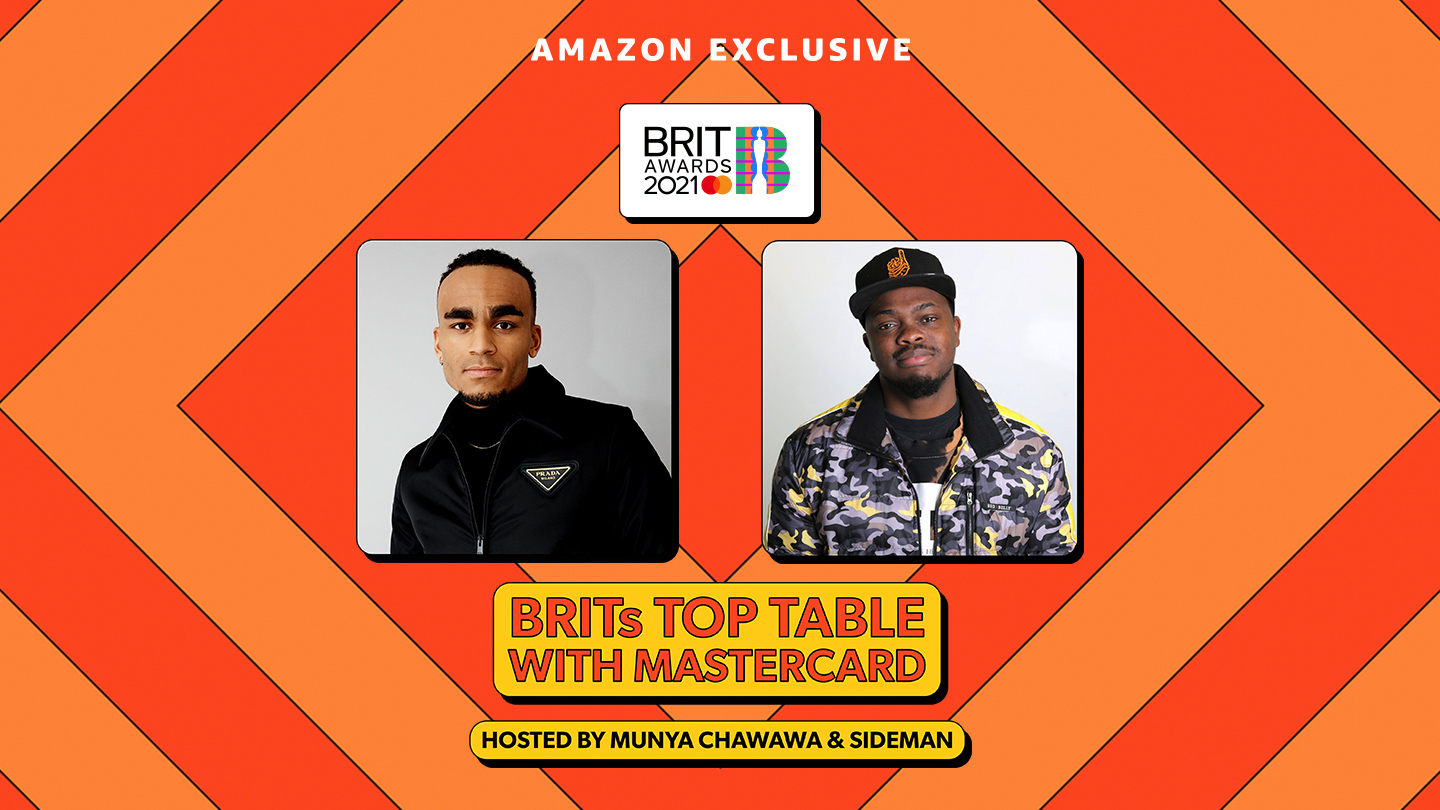 BRITs Top Table with Mastercard