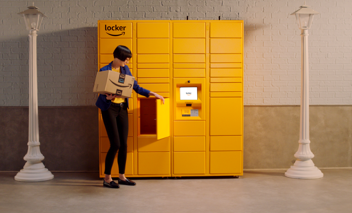 b4bf0225aa05 Amazon Locker – a self-service kiosk to collect your parcels