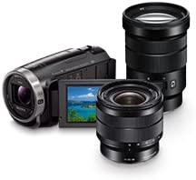 Up to 40% off Sony Lenses and Camcorders