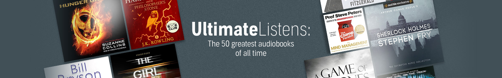Audible's Ultimate Top 50 Listens